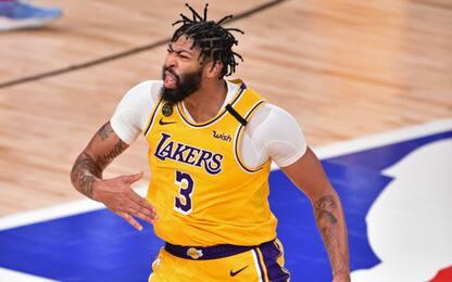 Lakers, Anthony Davis firma il rinnovo di 5 anni