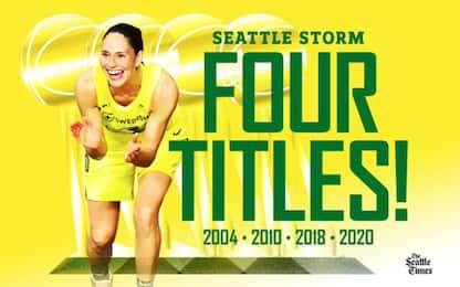 Seattle vince il titolo e lo dedica a Kobe e Gigi