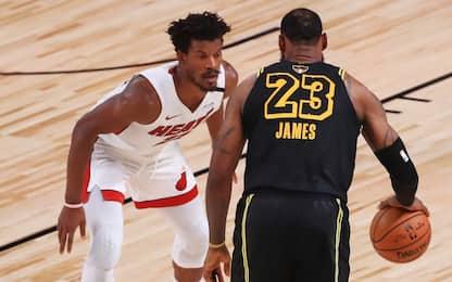 Che duello Butler-LeBron: i protagonisti di gara-5