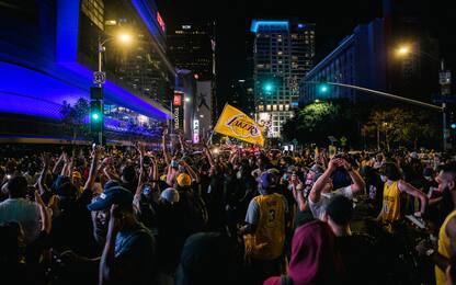 Lakers, la festa a Los Angeles dovrà attendere