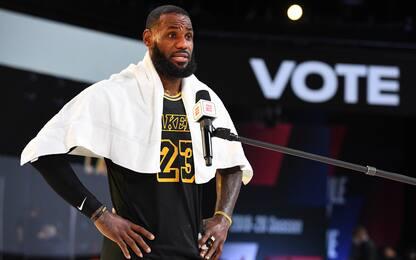 Anno di elezioni politiche USA: vince LeBron James