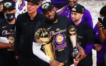 """LeBron incorona il """"vero MVP"""" delle Finals NBA"""