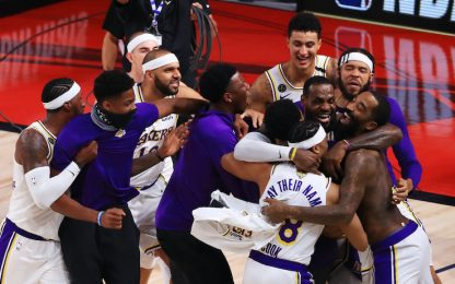 Il meglio dei Lakers campioni nella bolla. VIDEO