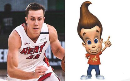 Duncan Robinson? Per i Lakers era Jimmy Neutron