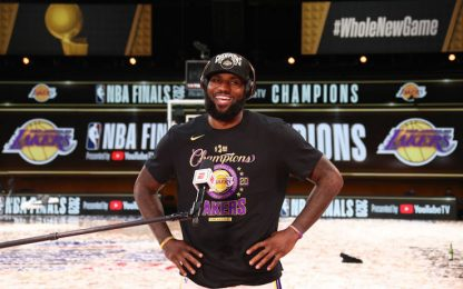 LeBron James: la top 10 delle sue 10 finali. VIDEO