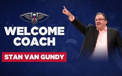 Pelicans: la presentazione di Van Gundy è su Sky