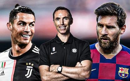 Messi o Cristiano Ronaldo? Steve Nash non ha dubbi