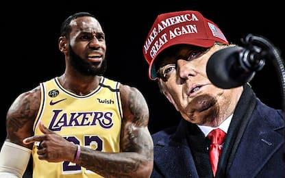Giorno di elezioni: Trump si scaglia contro LeBron
