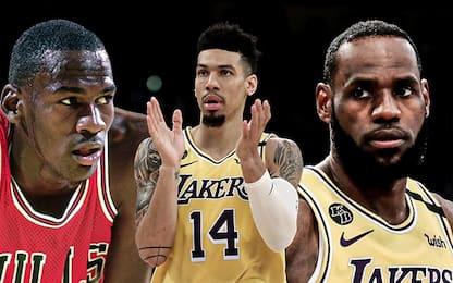 Meglio MJ o LeBron? Danny Green ha un'idea diversa