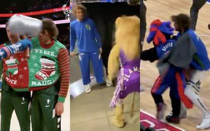 Robin Lopez e la lotta con le mascotte: la top-5
