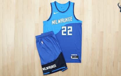 Milwaukee e l'acqua: le maglie City Edition 2021