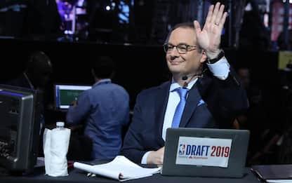 Wojnarowski non può spoilerare il Draft, in teoria