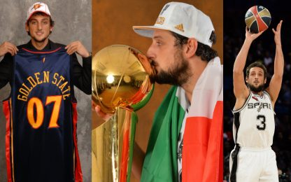 Marco Belinelli Story: la sua carriera in NBA