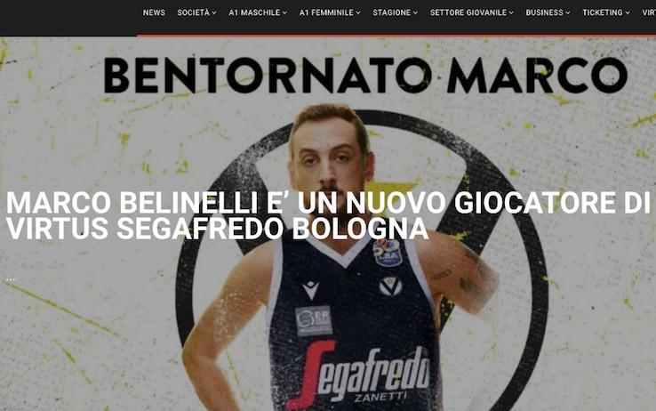 Marco Belinelli è un nuovo giocatore della Virtus Bologna