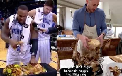 Thanksgiving, la NBA festeggia sui social