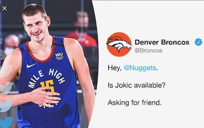 Denver, i Broncos senza quarterback chiamano Jokic