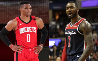 Westbrook lascia Houston, ai Rockets arriva Wall