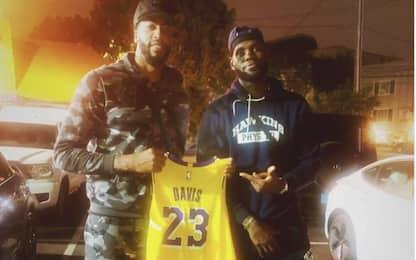 Davis, niente n°23: sulla maglia Lakers resta il 3