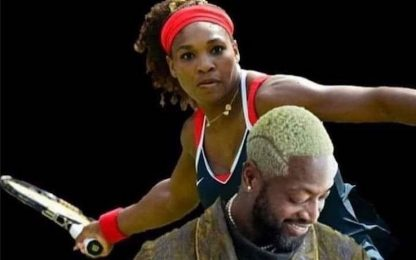 I capelli di Wade diventano un meme. FOTO