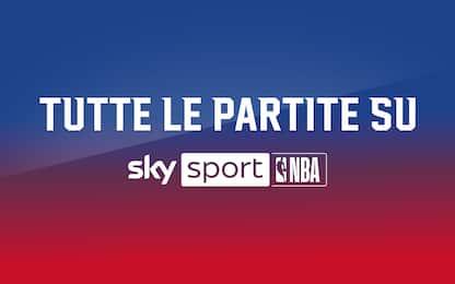 Tutte le partite NBA su Sky Sport: il programma