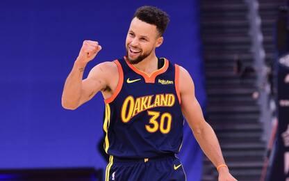 Steph Curry supera Reggie Miller: 2° all-time da 3