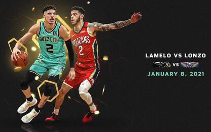 LaMelo sfida Lonzo: primo derby NBA in casa Ball