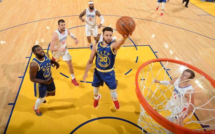 NBA – I risultati dell'8 gennaio: Warriors vincono da -22, Lakers senza Davis e Celtics ok, Bucks ko