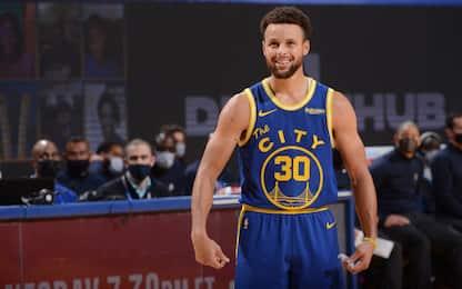 Primi per punti e assist: Curry e altre 9 leggende