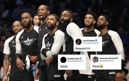 Da LeBron a KD: le reazioni NBA alla trade Harden
