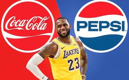 LeBron firma con Pepsi dopo l'addio a Coca-Cola