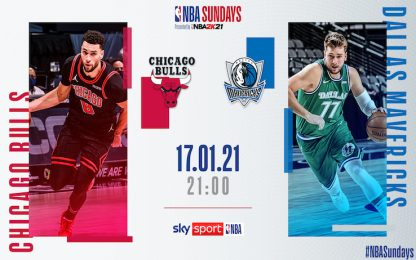 NBA Sundays: Dallas-Chicago su Sky Sport alle 21