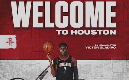 """Oladipo, futuro a Houston? """"Vedremo come andrà"""""""