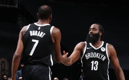 Nets-Bucks finale pazzesco: decide la tripla di KD