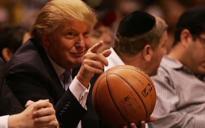 Trump via: 4 anni di scintille con il mondo NBA