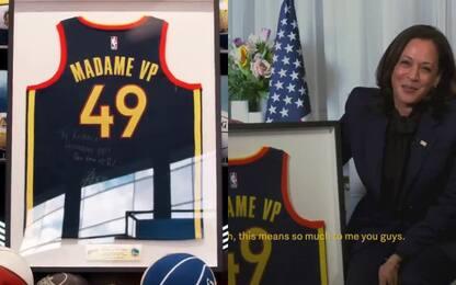 Golden State torna alla Casa Bianca, sulle pareti
