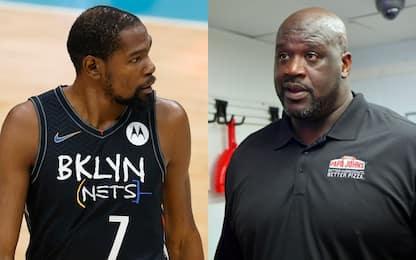Kevin Durant attacca Shaq e Barkley