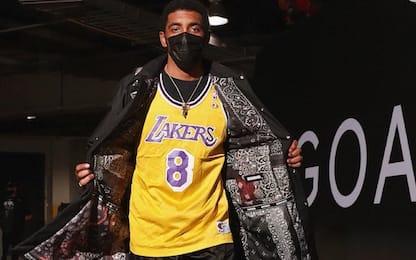 Kyrie Irving: omaggio a Kobe con la n°8. FOTO