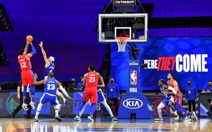 Lakers, 1° ko esterno: li condanna Harris. VIDEO
