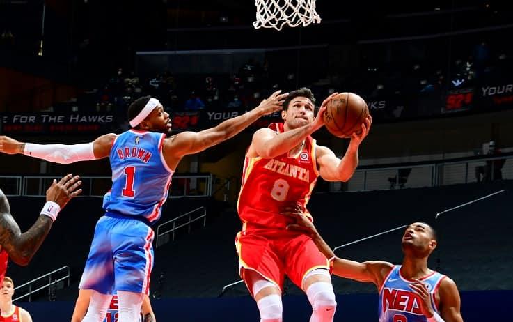 NBA – I Brooklyn Nets dei Big Three dopo un OT piegano gli Hawks di Gallinari