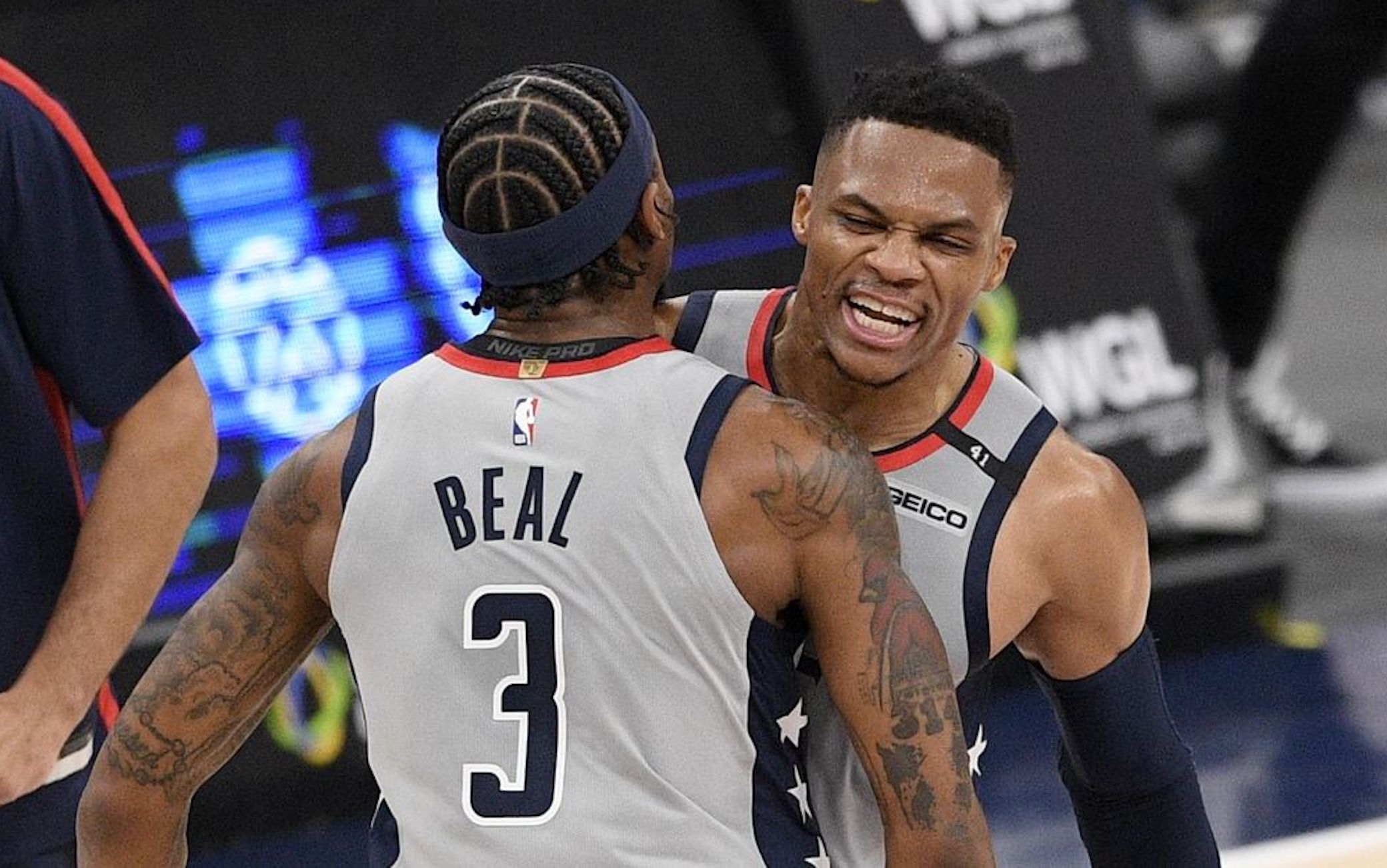 NBA – Warriors ko in casa, i Wizards passano con Westbrook e Beal