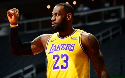 Torna LeBron: Pacers-Lakers LIVE alle 19 su Sky