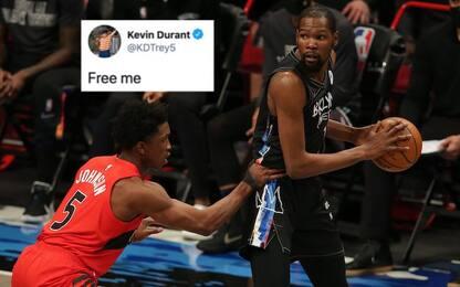 """Durant gioca, anzi no: è giallo. Lui: """"Liberatemi"""""""