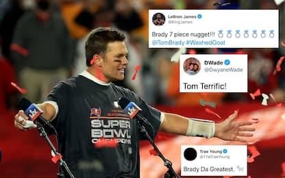 """""""Brady il GOAT"""": le reazioni del mondo NBA al SB"""