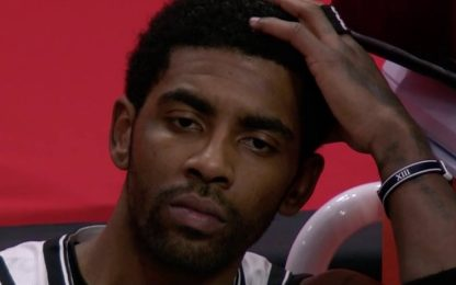 """Irving scuote i Nets: """"Siamo mediocri in tutto"""""""