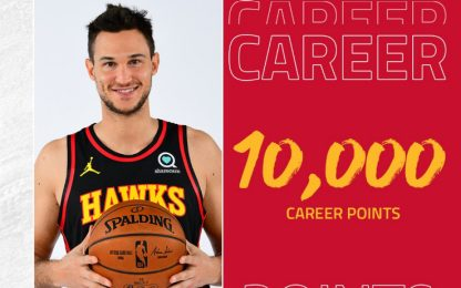 Gallinari ne segna 11: superati 10.000 in carriera