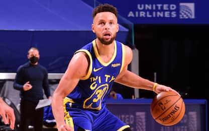 Curry scatenato: 10 triple a segno contro Orlando