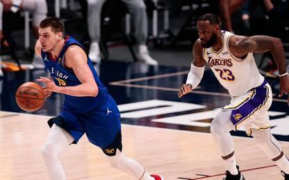 Denver ferma i Lakers, Luka e Giannis super ma ko