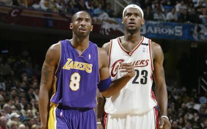 All'asta le scarpe che Kobe ha regalato a LeBron