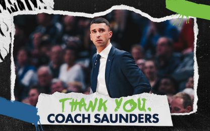 Minnesota cambia coach: via Saunders, arriva Finch