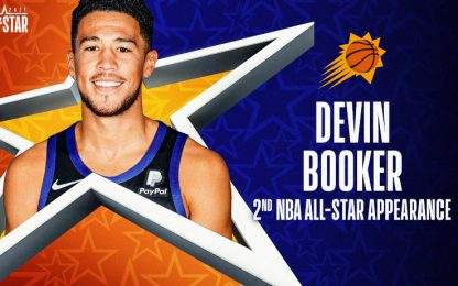 Davis ko, Booker prende il suo posto all'ASG